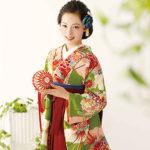卒業式袴にレース手袋着用の個性派コーデ