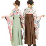 自分に似合う、袴と着物の色合わせ
