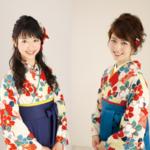同じ着物でも袴で雰囲気は変わる??