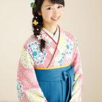 袴スタイルにぴったりの編み込みヘアアレンジ!